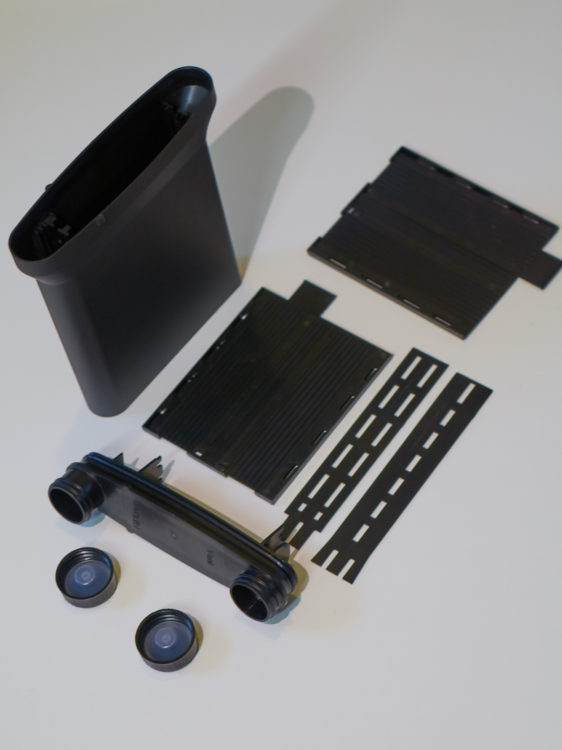 SP-445 disassembled