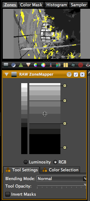 LightZone ZoneMapper 2